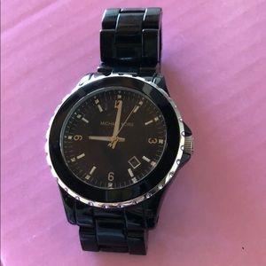 Michael Kors Black Runway Watch